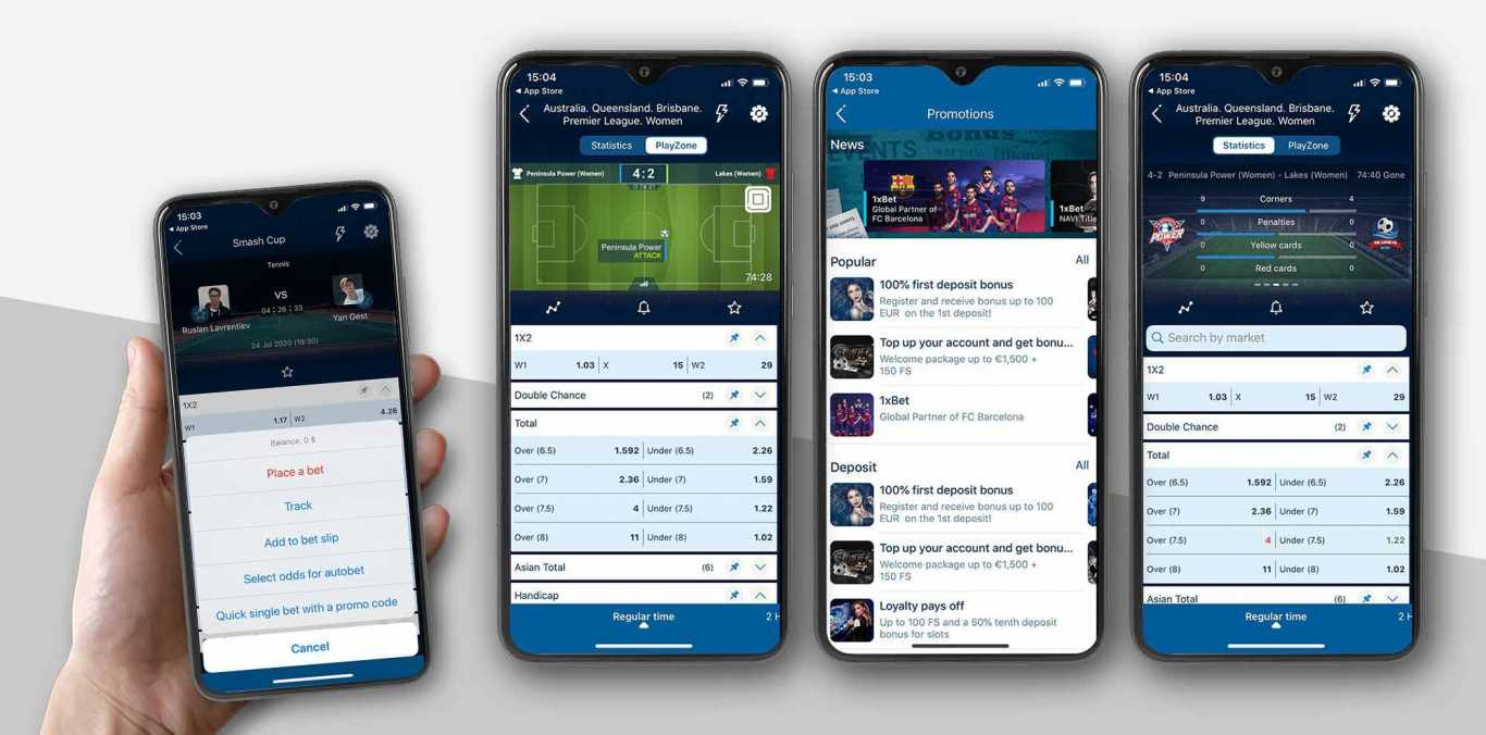 1xBet Android app